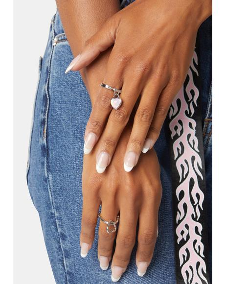 Promise U This Heart Ring Set