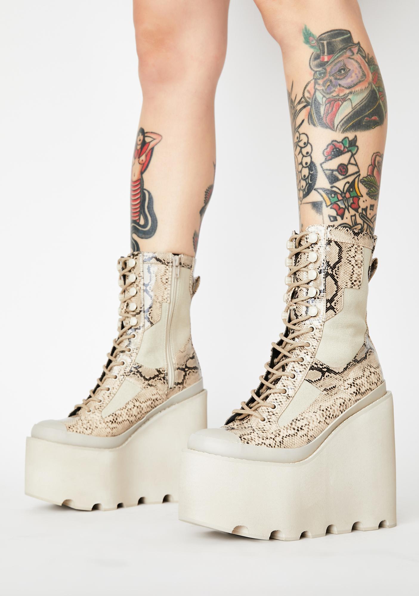 Club Exx Toxic Field Girl Traitor Boots