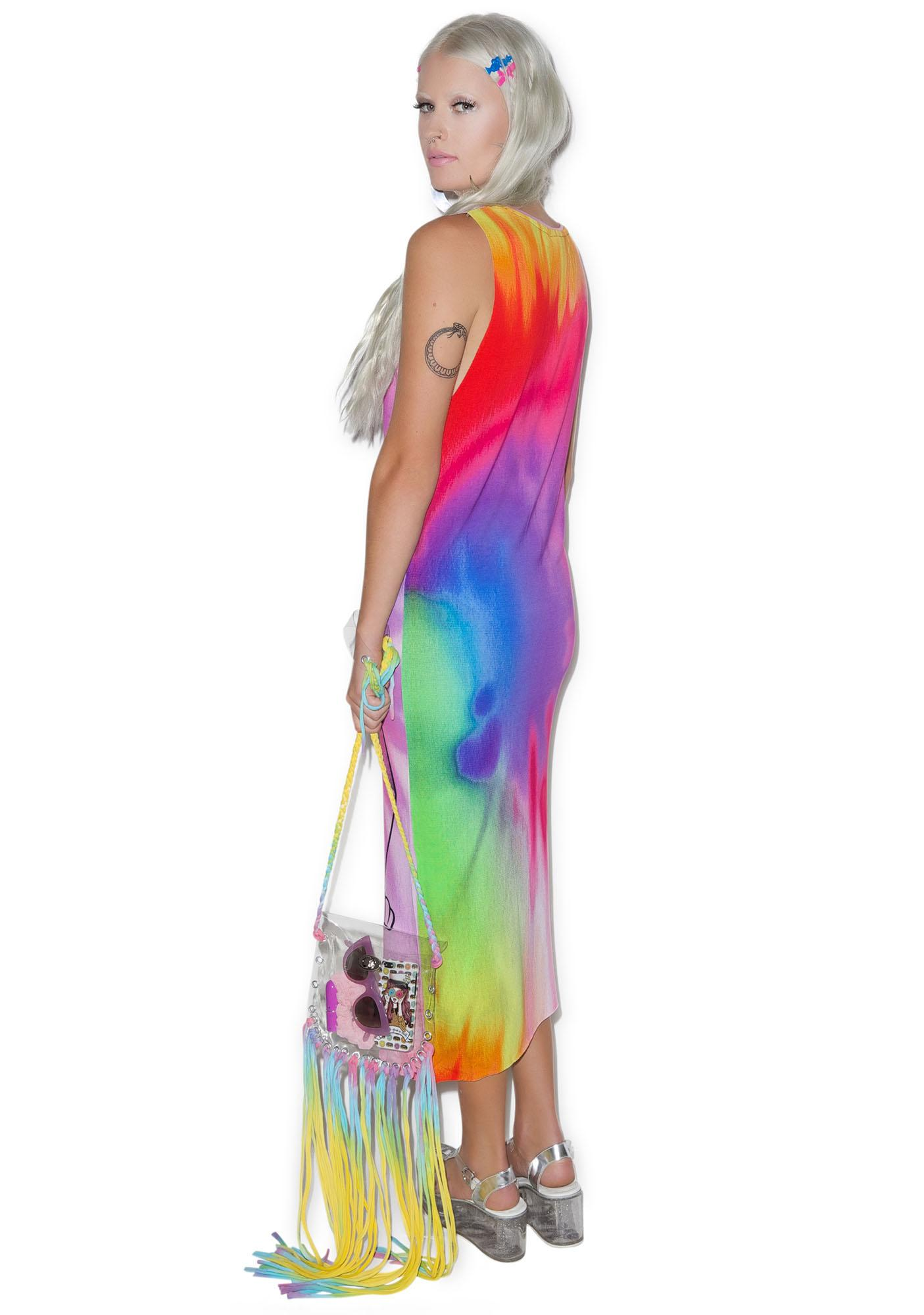 Killstar Purrfecta Bast Maxi Dress