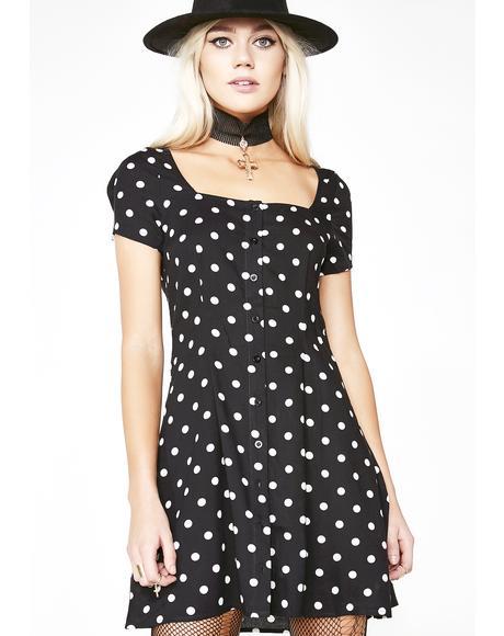 Polka Dot Zavaca Dress