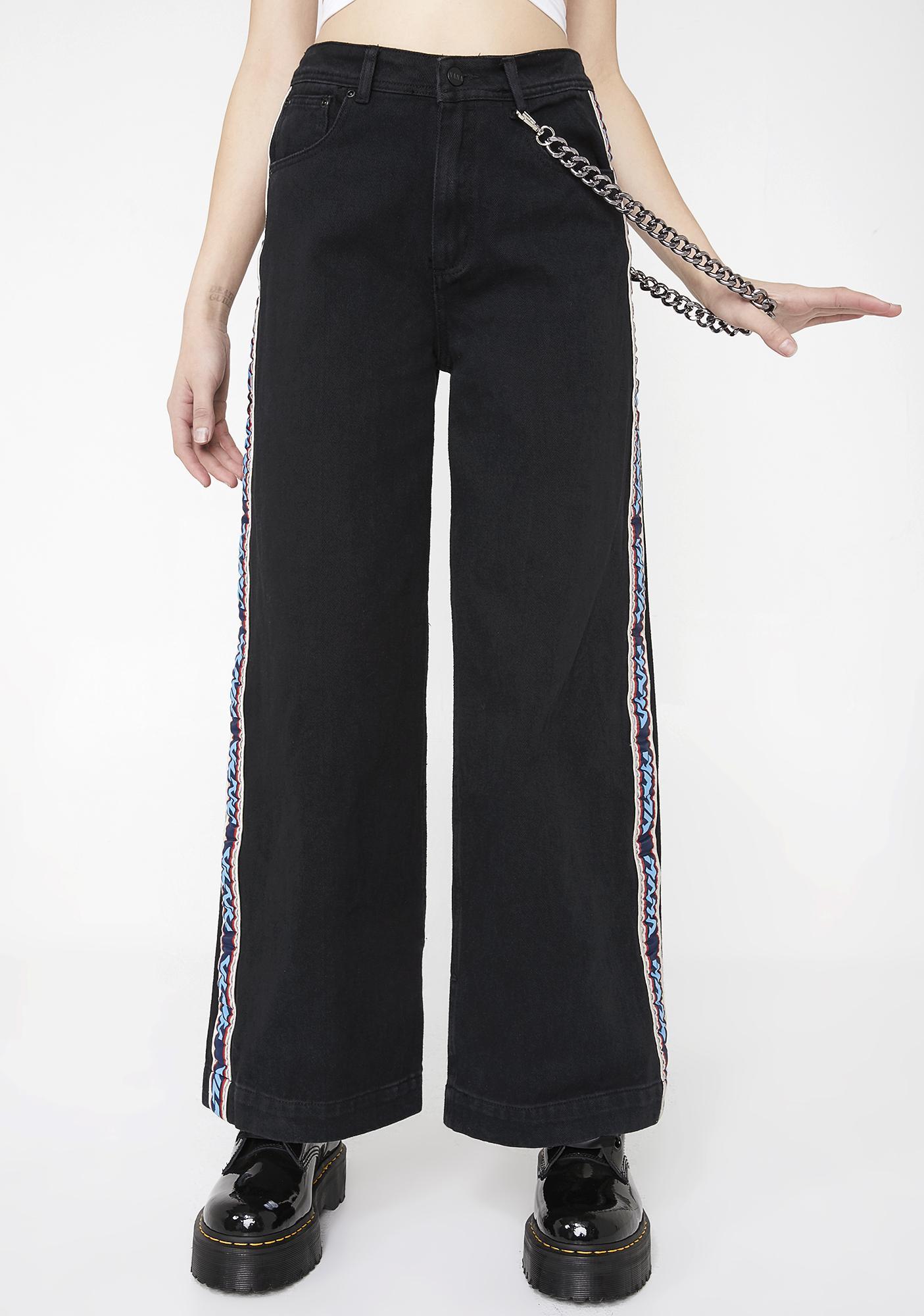 Nana Judy Chain Oversized Trousers