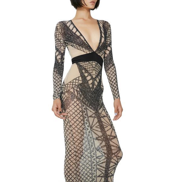 Kiki Riki Queen Freaque Geometric Dress
