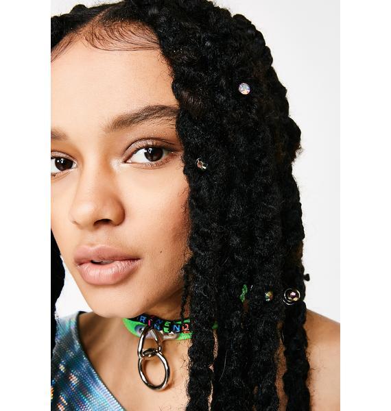 Jewel Drippin' Hair Spiral Set