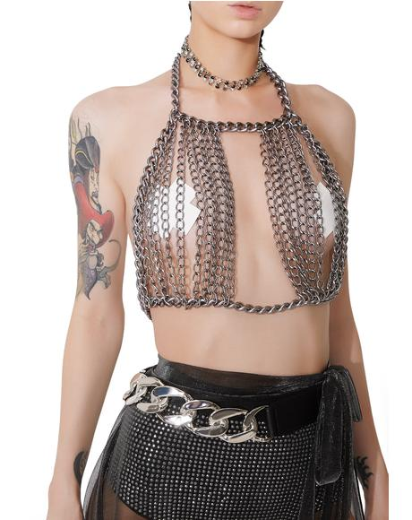 Locked Up Chain Belt