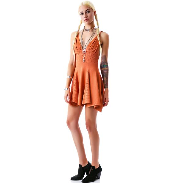 For Love & Lemons Dolly Knit Dress