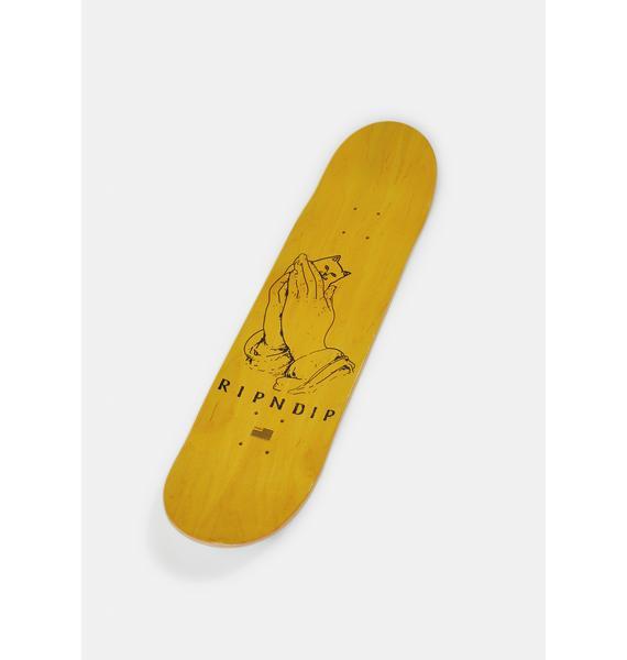RIPNDIP Yellow Lord Nermal Board