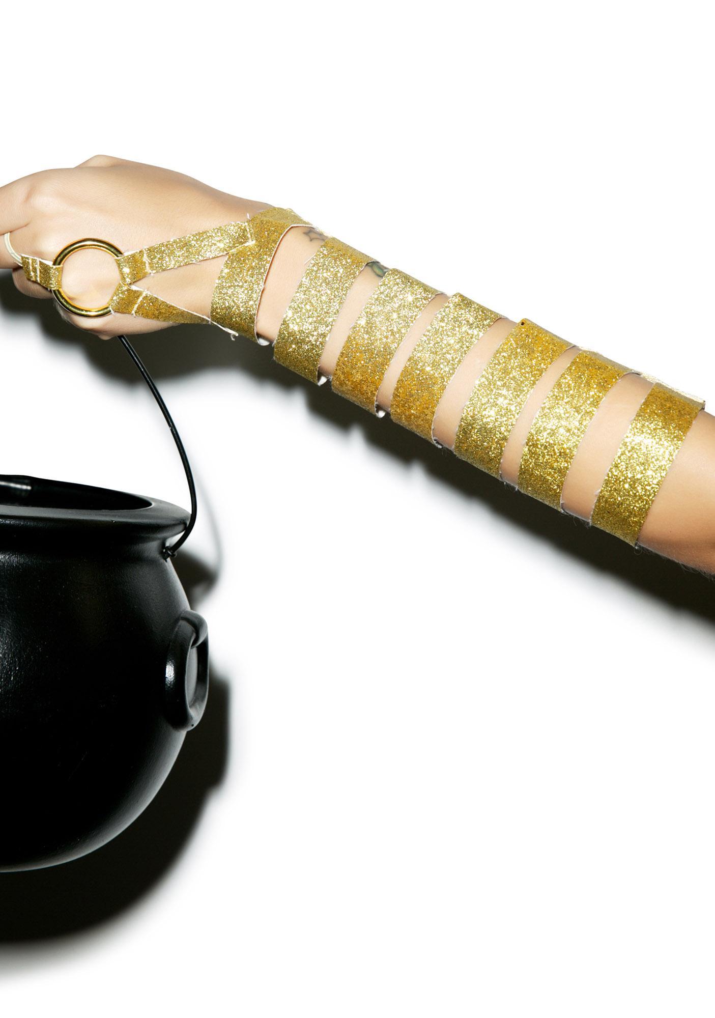 Goddess of Gold Arm Wraps