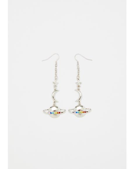 Astro Empress Drop Earrings