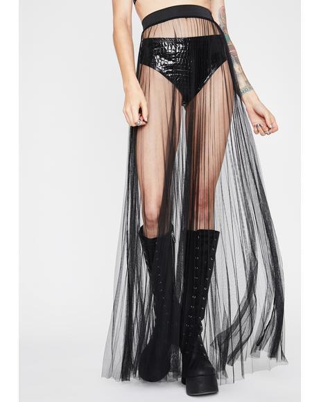 Fallen Lover Maxi Skirt