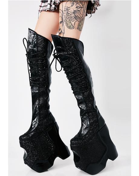Devious Fabulous Platform Boots