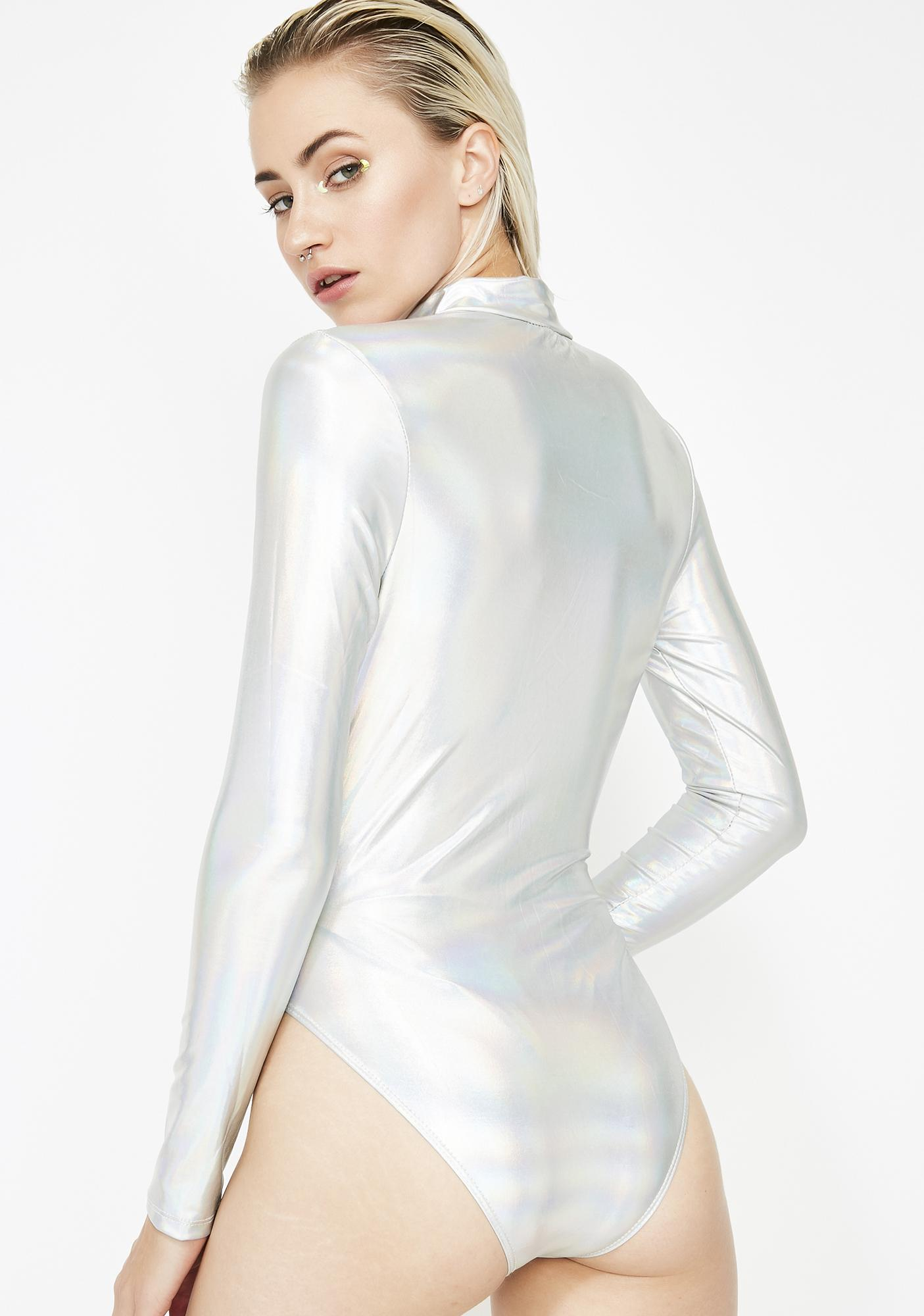 Electric Beat Holographic Bodysuit