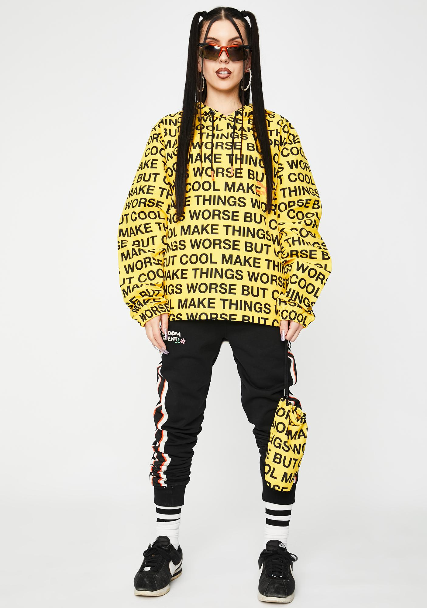 PUMA X Randomevent Graphic Windbreaker