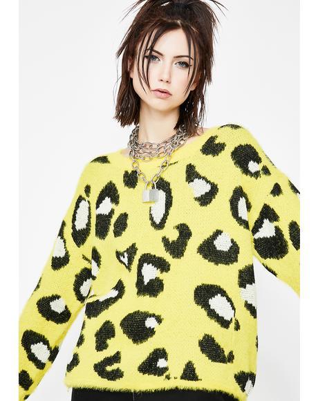 Jungle Wonder Leopard Sweater
