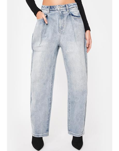 Pinch Denim Jeans