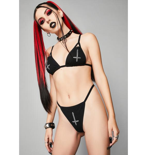 Widow Unholy Matrimony Lingerie Set
