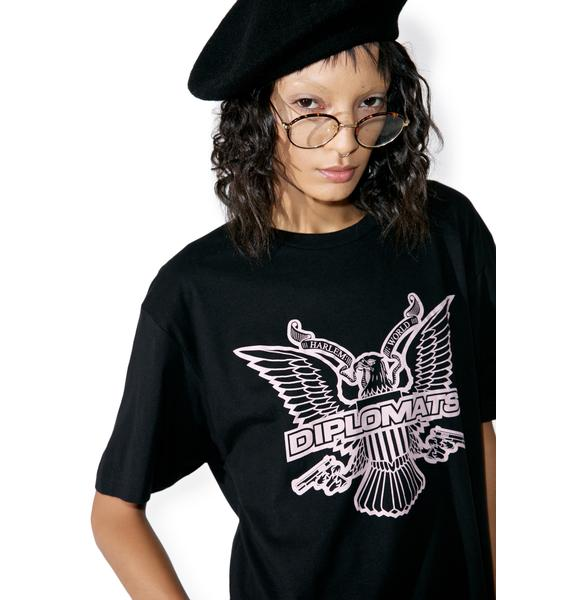 Dipset Black OG Eagle Logo T-Shirt