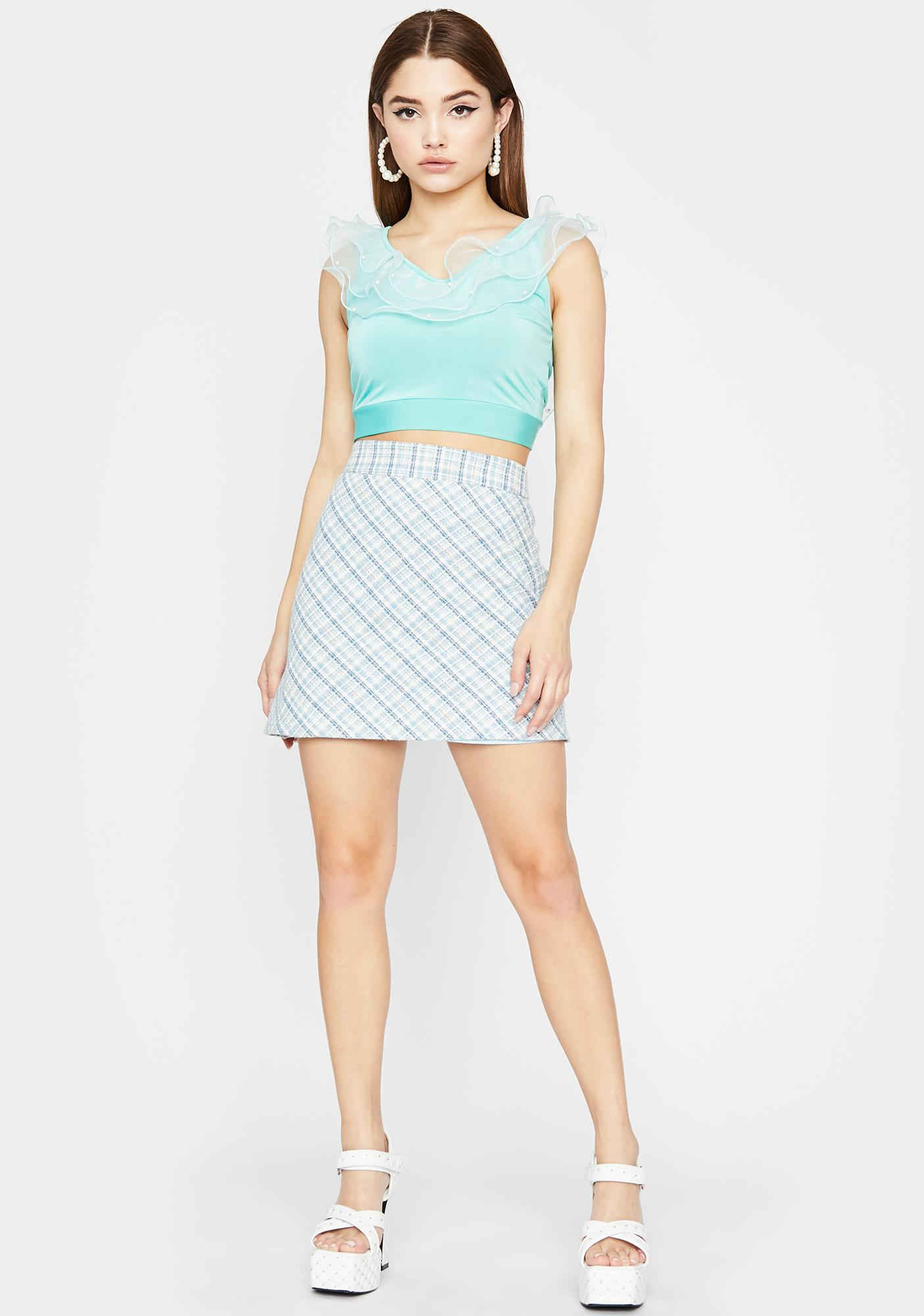 Posh Pixie Crop Top