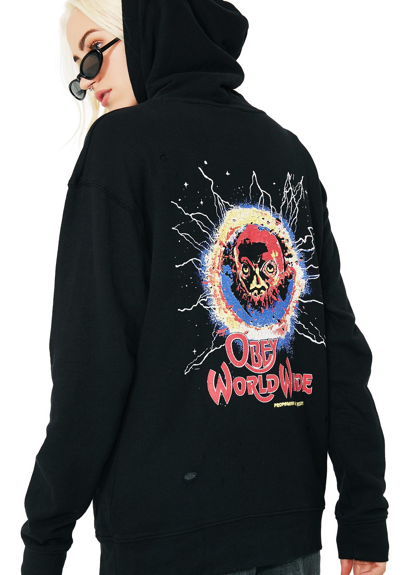 Obey End Of The World Tour Hoodie