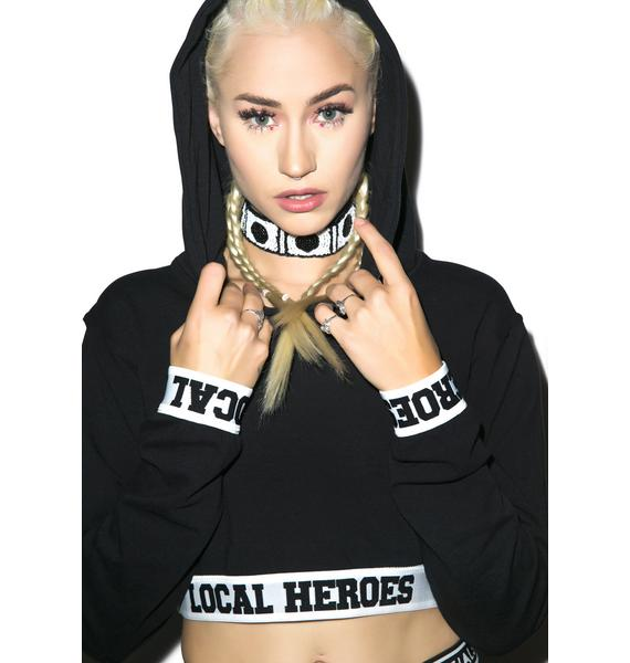 Local Heroes Local Heroes Cropped Hoodie