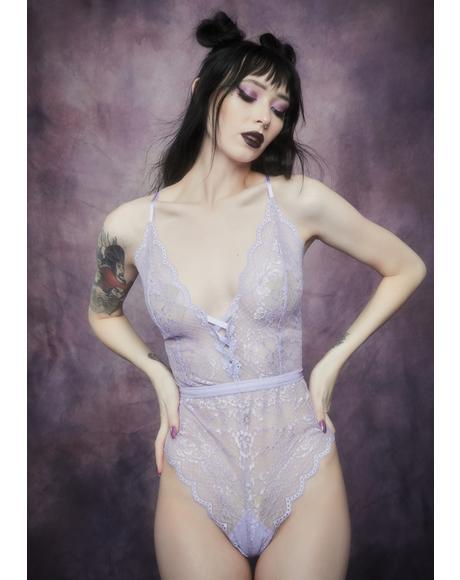 Fairy Glen Lace Up Bodysuit