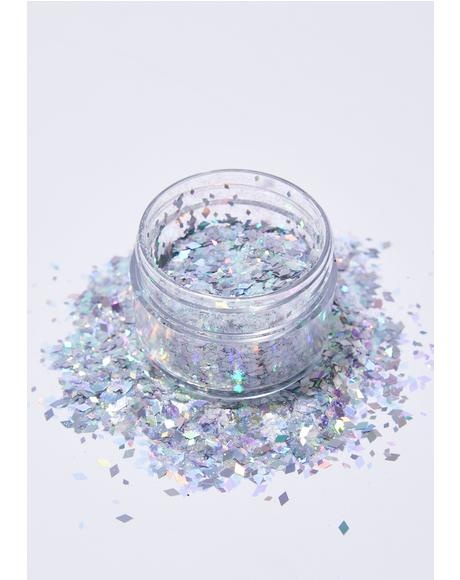 Ice Queen Face Glitter