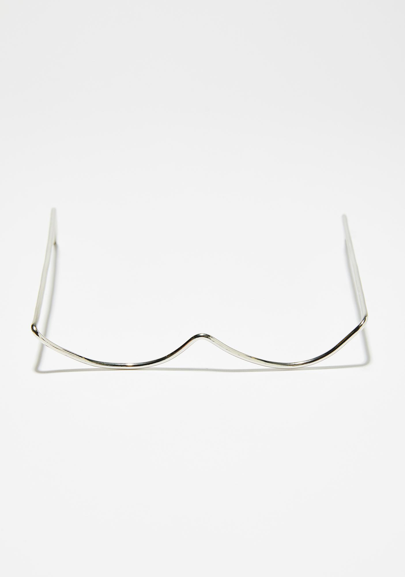 Heavy Metal Lover Wire Glasses