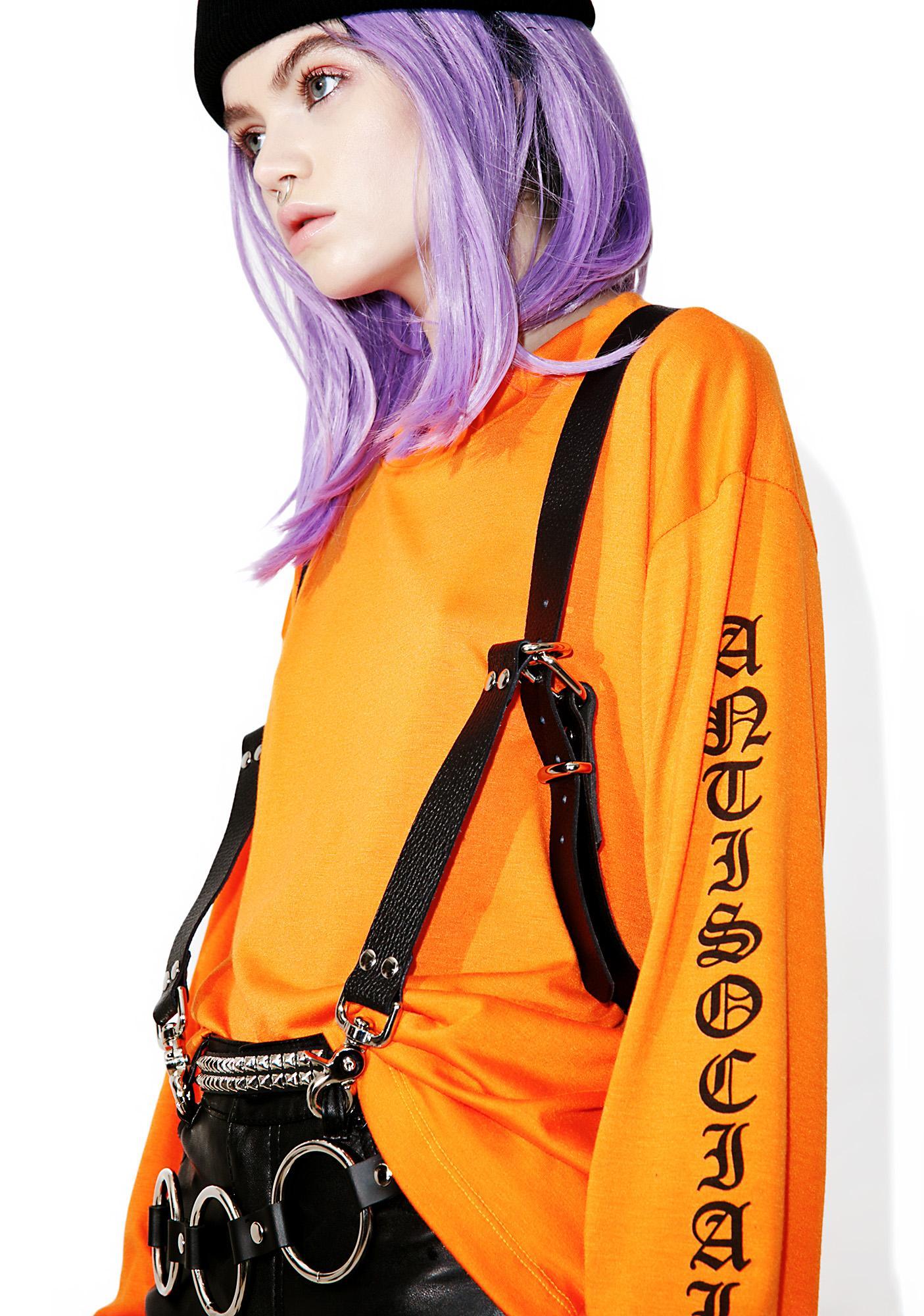 Lovecraftian Harness Suspenders