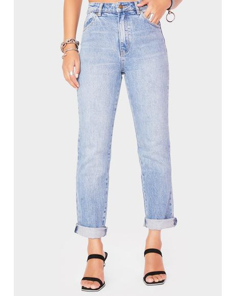Brad Blue Original Straight Leg Jeans