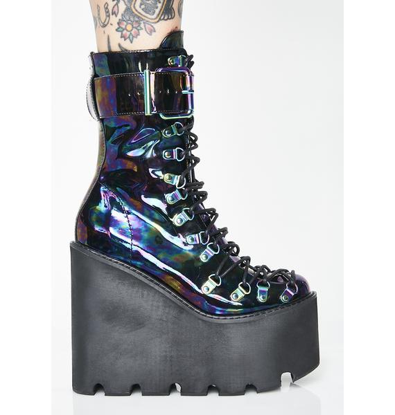 Current Mood Oil Slick Traitor Boots