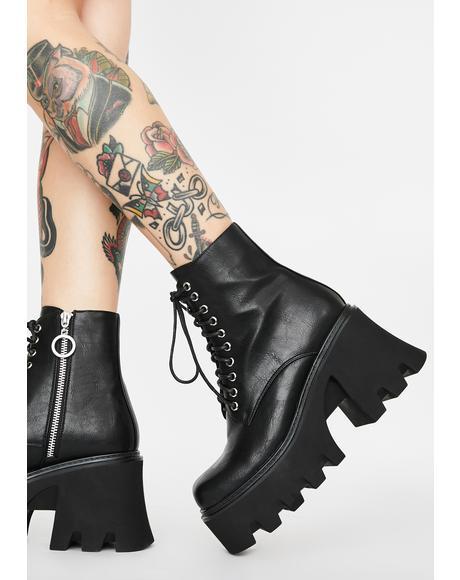 Voice Of Resistance Platform Boots