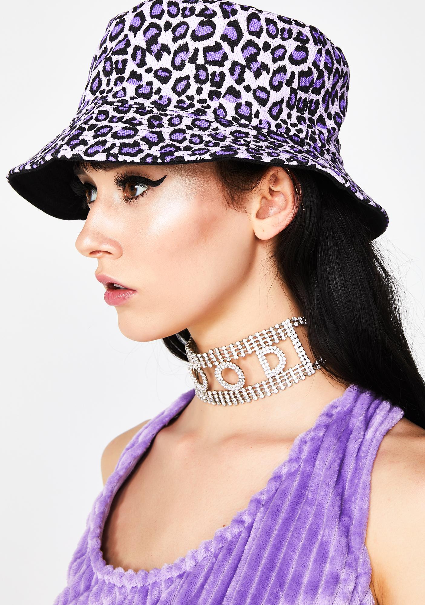 Make Me Purr Leopard Bucket Hat