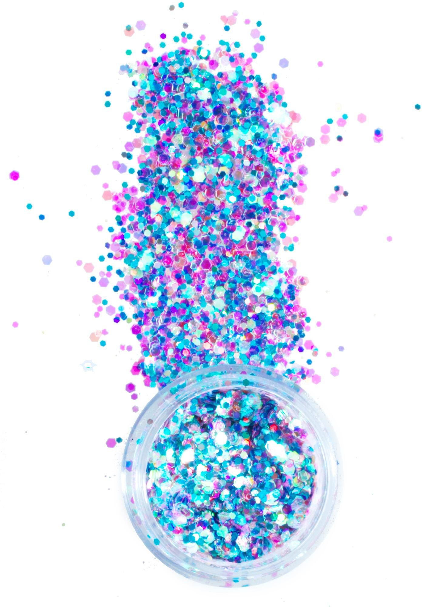 In Your Dreams Purple Unicorn Chunky Glitter