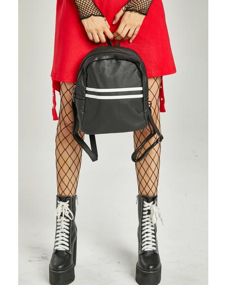 Big Time Player Stripe Backpack