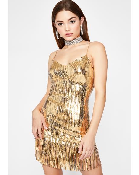 Make Ya Shimmy Sequin Dress