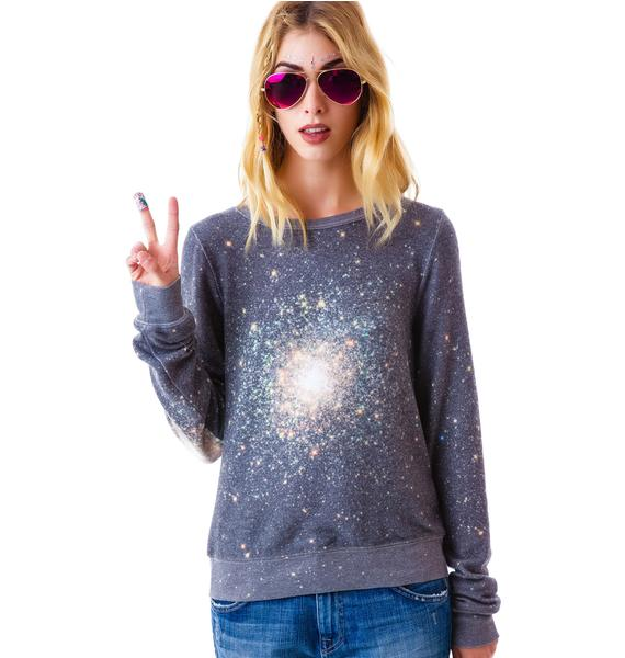Wildfox Couture Out There Baggy Beach Jumper