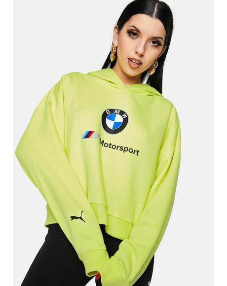 Fluo Yellow BMW M Motorsport Street Hoodie