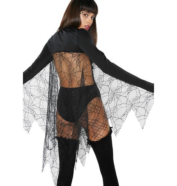Dolls Kill Black Widow Costume