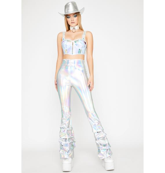 Moonstone Dirty Disco Flare Pants