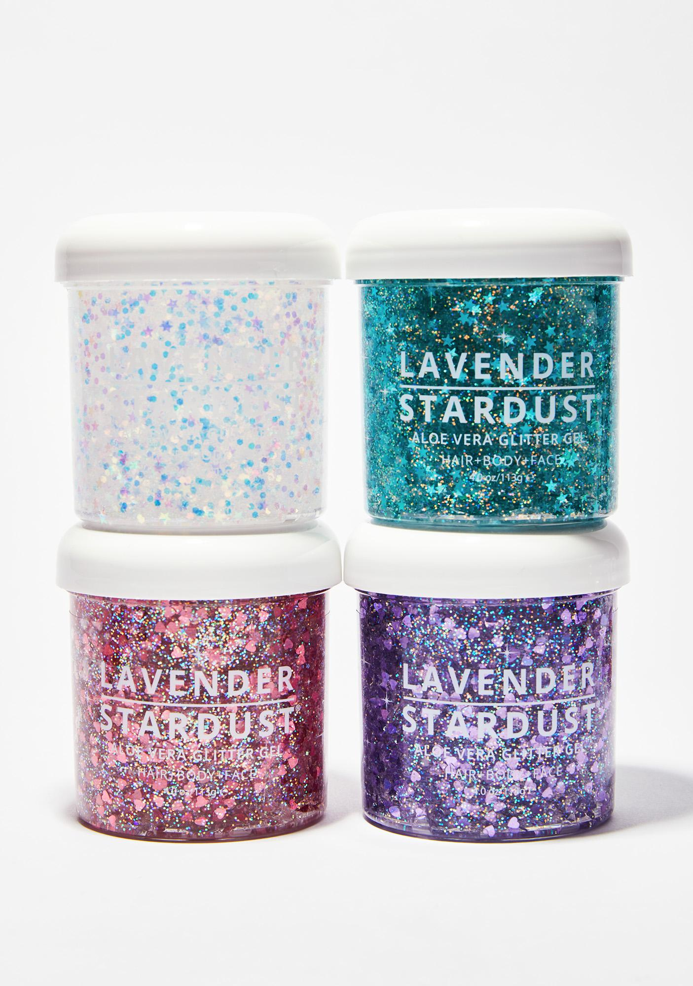 Lavender Stardust Mermaid Stardust Glitter Gel