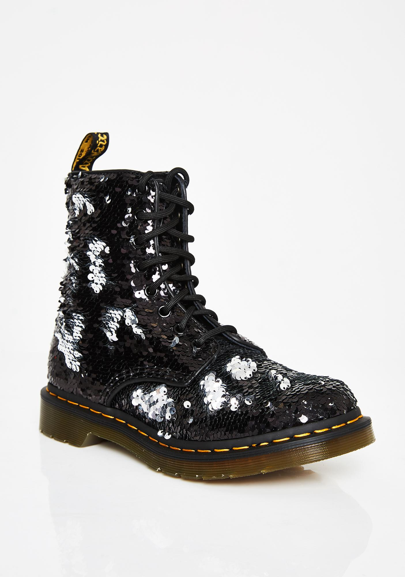 Dr. Martens 1460 Pascal Sequin Boots