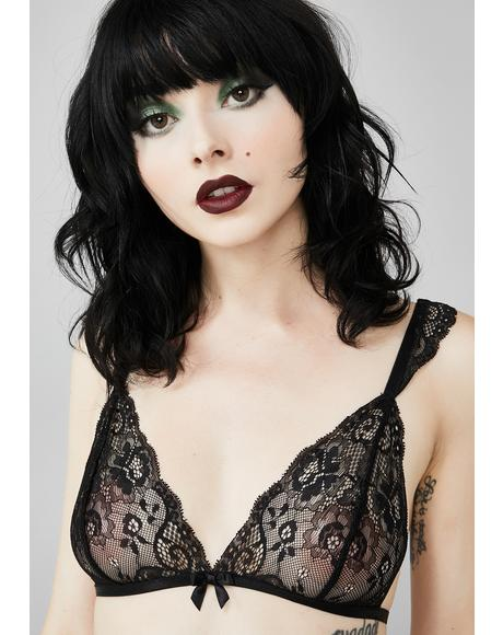 Mournful Mistress Lace Bralette