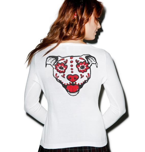 Sourpuss Clothing Puppy Love Cardigan