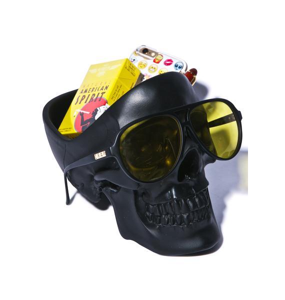 Skull Stuff Holder