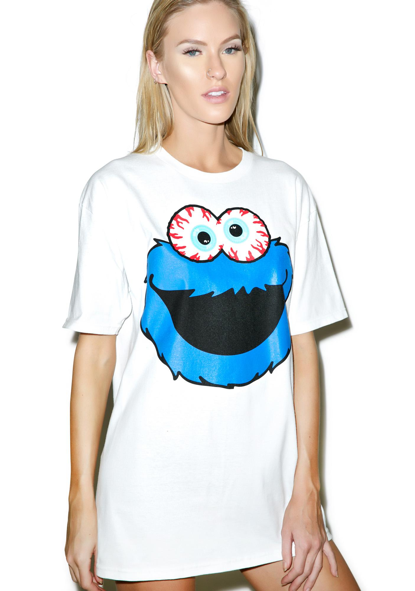 Mishka Keep Watch Cookie Monster Tee