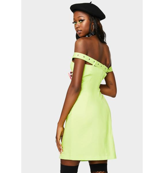 The Ragged Priest Entertainment Off The Shoulder Dress