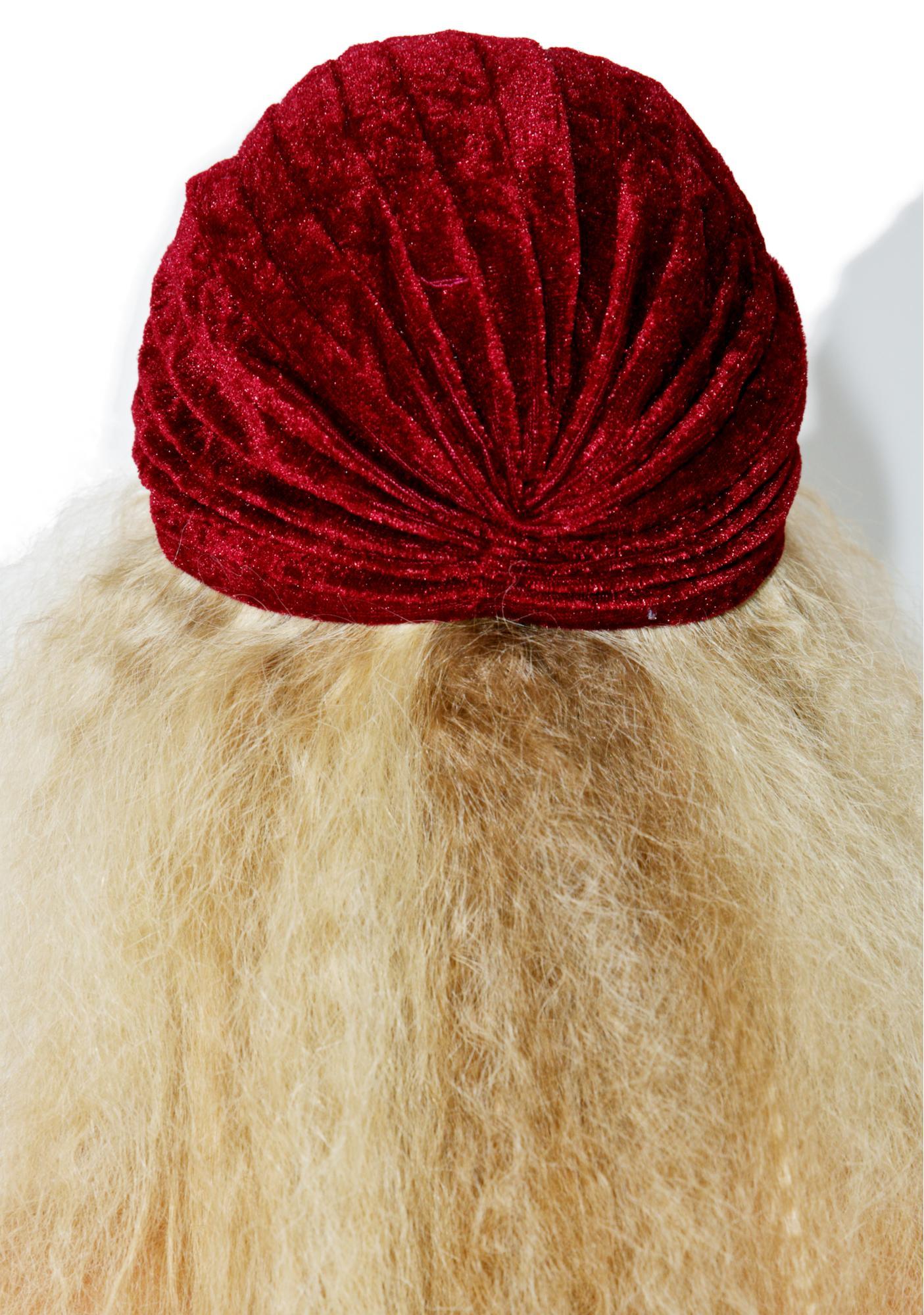 Foxtrot Velvet Cap