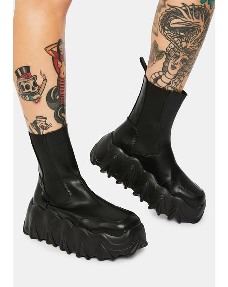 Boss Up Chunky Ankle Boots