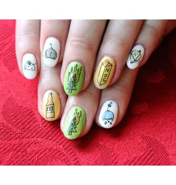 Nail Pop Xmas Special Water Slide Nail Decals