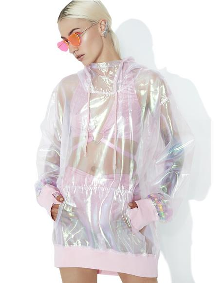 Bubble Pop Iridescent Hoodie