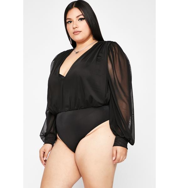 Gotta Give You Up Long Sleeve Bodysuit